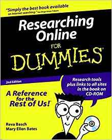 Image for RESEARCHING ONLINE FOR DUMMIES