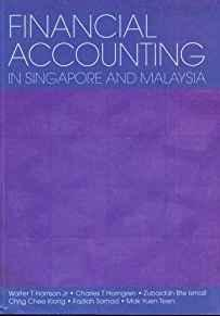 Image for FINANCIAL ACCOUNTING IN SINGAPORE AND MALAYSIA