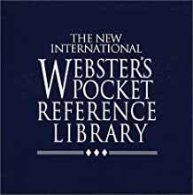 Image for THE NEW INTERNATIONAL WEBSTER'S POCKET REFERENCE LIBRARY