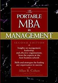 Image for THE PORTABLE MBA IN MANAGEMENT