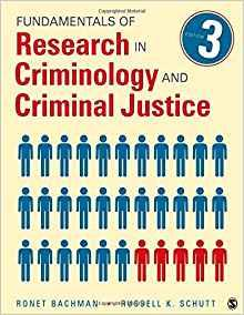 Image for FUNDAMENTALS OF RESEARCH IN CRIMINOLOGY AND CRIMINAL JUSTICE