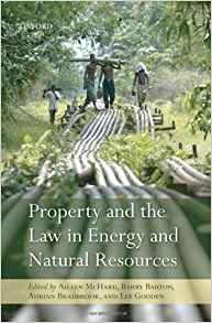 Image for PROPERTY AND THE LAW IN ENERGY AND NATURAL RESOURCES