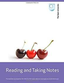 Image for STUDY SKILLS: READING AND TAKING NOTES