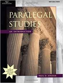 Image for PARALEGAL STUDIES: AN INTRODUCTION (PARALEGAL SERIES)(INCLUDES CD)