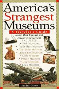 Image for AMERICA'S STRANGEST MUSEUMS: A TRAVELER'S GUIDE TO THE MOST UNUSUAL AND ECC ENTRIC COLLECTIONS