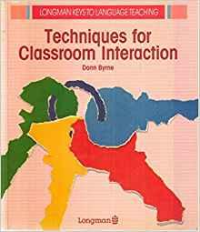 Image for TECHNIQUES FOR CLASSROOM INTERACTION