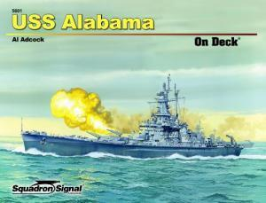 Image for USS ALABAMA ON DECK