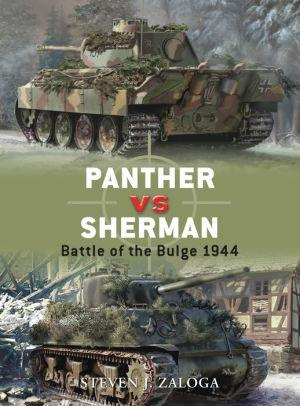 Image for PANTHER VS SHERMAN: BATTLE OF THE BULGE 1944
