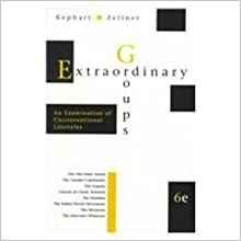 Image for EXTRAORDINARY GROUPS: AN EXAMINATION OF UNCONVENTIONAL LIFESTYLES