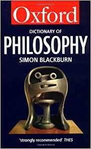 Image for THE OXFORD DICTIONARY OF PHILOSOPHY (OXFORD QUICK REFERENCE)