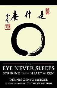 Image for THE EYE NEVER SLEEPS: STRIKING TO THE HEART OF ZEN