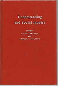 Image for UNDERSTANDING AND SOCIAL INQUIRY