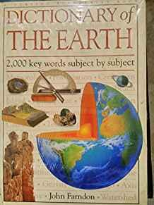 Image for DICTIONARY OF THE EARTH