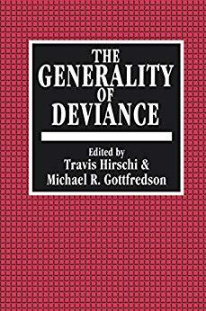 Image for THE GENERALITY OF DEVIANCE
