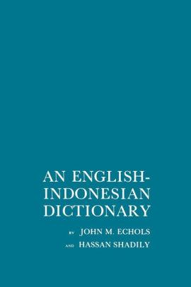 Image for AN ENGLISH-INDONESIAN DICTIONARY / EDITION 1