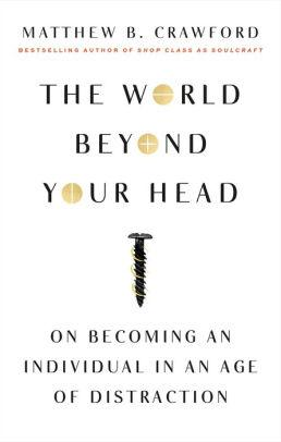 Image for THE WORLD BEYOND YOUR HEAD: ON BECOMING AN INDIVIDUAL IN AN AGE OF DISTRACT ION