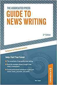 Image for ASSOCIATED PRESS GUIDE TO NEWS WRITING: THE RESOURCE FOR PROFESSIONAL JOURN ALISTS
