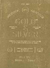 Image for GOLD & SILVER: METALLIC GRAPHICS