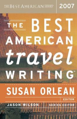 Image for THE BEST AMERICAN TRAVEL WRITING 2007