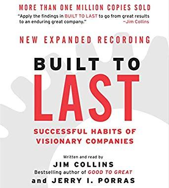 Image for BUILT TO LAST: SUCCESSFUL HABITS OF VISIONARY COMPANIES (GOOD TO GREAT, BOO K 2)