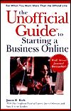 Image for UNOFFICIAL GUIDE TO STARTING A BUSINESS ONLINE