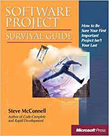Image for SOFTWARE PROJECT SURVIVAL GUIDE