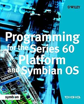 Image for PROGRAMMING FOR THE SERIES 60 PLATFORM AND SYMBIAN OS