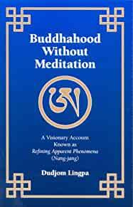 Image for BUDDHAHOOD WITHOUT MEDITATION: A VISIONARY ACCOUNT KNOWN AS REFINING APPARE NT PHENOMENA, NANGJANG