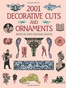Image for 2001 DECORATIVE CUTS AND ORNAMENTS