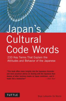 Image for JAPAN'S CULTURAL CODE WORDS: 233 KEY TERMS THAT EXPLAIN THE ATTITUDES AND B EHAVIOR OF THE JAPANESE