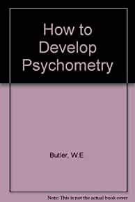 Image for HOW TO DEVELOP PSYCHOMETRY