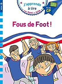 Image for SAMI ET JULIE CP NIV 3 FOUS DE FOOT ! (FRENCH EDITION)