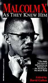 Image for MALCOLM X: AS THEY KNEW HIM