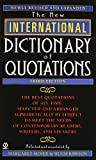 Image for NEW INTERNATIONAL DICTIONARY OF QUOTATIONS, 3RD EDITION