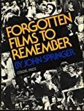 Image for FORGOTTEN FILMS TO REMEMBER